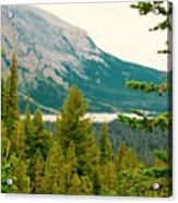 Glacier Np View Acrylic Print