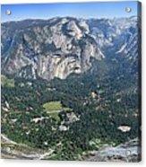 Glacier Point Panorama - Yosemite Valley Acrylic Print
