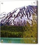 Glacier Waters Acrylic Print