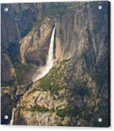 Glacierpoint Yosemitefalls Acrylic Print