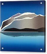 Glaciers Acrylic Print