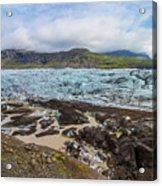 Glacier, Vatnajokull National Park, Iceland Acrylic Print