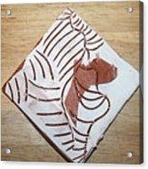 Glad - Tile Acrylic Print