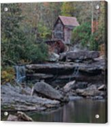 Glade Creek Grist Mill Acrylic Print