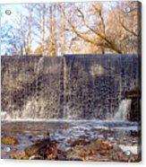 Gladwyne - Dove Lake Waterfall Panorama Acrylic Print