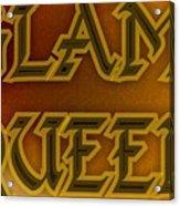 Glam Queen Acrylic Print