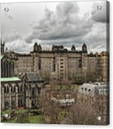 Glasgow Cathedral And Victoria Infirmary Acrylic Print