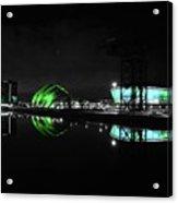 Glasgow Riverside Acrylic Print