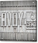 Glasgow Savoy Centre Acrylic Print