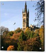 Glasgow University Acrylic Print