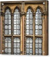 Glasgow Unversity Window Acrylic Print