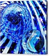 Glass Abstract 110 Acrylic Print