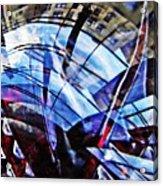 Glass Abstract 219 Acrylic Print