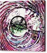 Glass Abstract 515 Acrylic Print