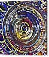 Glass Abstract 587 Acrylic Print