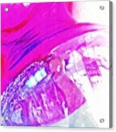 Glass Abstract 602 Acrylic Print