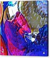 Glass Abstract 609 Acrylic Print
