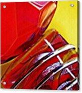 Glass Abstract 649 Acrylic Print