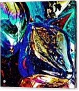 Glass Abstract 687 Acrylic Print