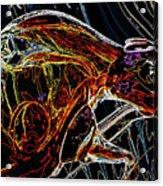 Glass Abstract Acrylic Print