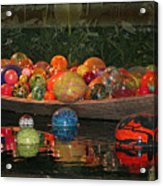Glass Balls At Phipps Acrylic Print