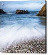 Glass Beach Acrylic Print