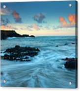 Glass Beach Dawn Acrylic Print