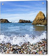 Glass Beach, Fort Bragg California Acrylic Print