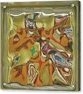 Glass Block Acrylic Print