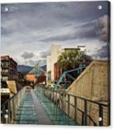 Glass Bridge To The Aquarium Acrylic Print