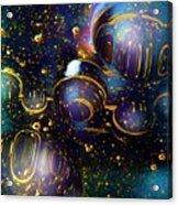 Glass Bubbles 2 Acrylic Print