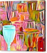 Glass Collection Acrylic Print