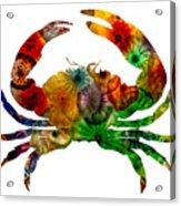Glass Crab Acrylic Print