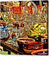 Glass For Sale Acrylic Print