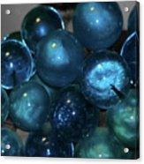 Glass Grapes Acrylic Print