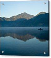 Glass Lake Atitlan Guatemala 1 Acrylic Print