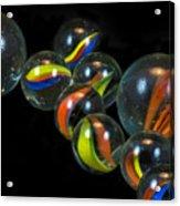 Glass Marbles Acrylic Print