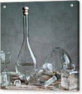 Glass Acrylic Print by Nailia Schwarz