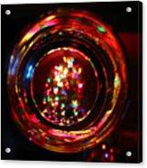 Glass Of Christmas Tree Acrylic Print