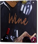 Winery Acrylic Print