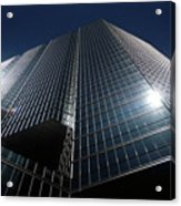 Glass Office Building Acrylic Print
