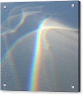 Glass Rainbow Acrylic Print