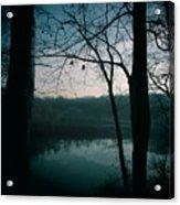 Glass River Acrylic Print