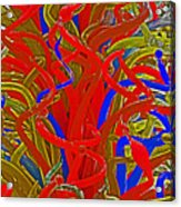 Glass Sculpture A-la Monet 2 Acrylic Print