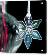 Glass Star Decoration Acrylic Print