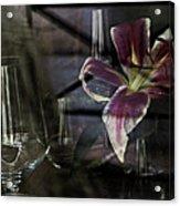 Glass Still Life #1. Acrylic Print