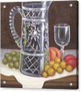 Glass Study Acrylic Print