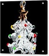 Glass Tree Decoration Acrylic Print