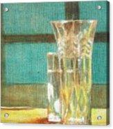 Glass Vase - Still Life Acrylic Print