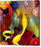 Glassworks Of The Milwaukee Art Museum Acrylic Print
